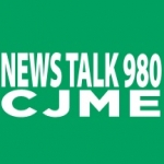 Logo da emissora Radio CJME News Talk 980 AM
