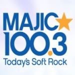 Logo da emissora Radio CJMJ Majic 100.3 FM