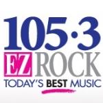 Logo da emissora Radio CJMX Kiss 105.3 FM