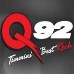 Logo da emissora Radio CJQQ 92 FM