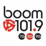 Logo da emissora Radio CJSS Boom 101.9 FM
