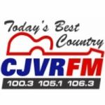 Logo da emissora Radio CJVR 100.3 FM
