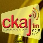Logo da emissora Radio CKAJ 92.5 FM