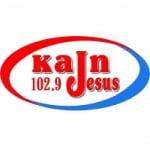 Logo da emissora Radio KAJN Jesus 102.9 FM