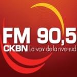 Logo da emissora Radio CKBN 90.5 FM