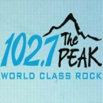 Logo da emissora Radio CKPK The Peak 100.5 FM
