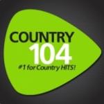 Logo da emissora Radio CKDK Country 104 103.9 FM