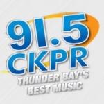 Logo da emissora Radio CKPR 91.5 FM