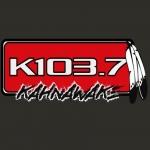 Logo da emissora Radio CKRK K103 103.7 FM