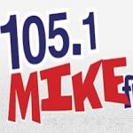 Logo da emissora Radio CKDG Mike 105.1 FM