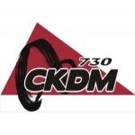 Logo da emissora Radio CKDM 730 AM