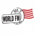 Logo da emissora Radio CKER World 101.7 FM