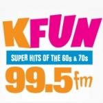 Logo da emissora Radio KFUN 99.5 FM
