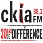 Logo da emissora Radio CKIA 88.3 FM