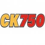 Logo da emissora Radio CKJH 750 AM