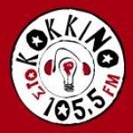 Logo da emissora Radio Sto Kokkino 105.5 FM