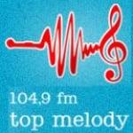 Logo da emissora Radio Top Melody 104.9 FM