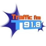 Logo da emissora Radio Traffic 91.8 FM