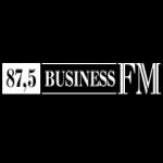 Logo da emissora Business 87.5 FM