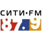 Logo da emissora City FM 87.9 FM