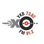 Logo da emissora Echo of Moscow 91.2 FM