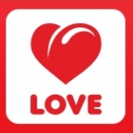 Logo da emissora Love Radio 105.3 FM Dance