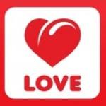 Logo da emissora Love Radio 105.3 FM Russian