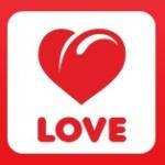 Logo da emissora Love Radio 105.3 FM Pride