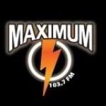 Logo da emissora Maximum 103.7 FM Café