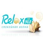 Logo da emissora Relax 90.8 FM