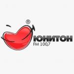 Logo da emissora Uniton 100.7 FM