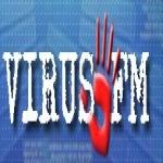Logo da emissora Virus FM