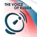 Logo da emissora Voice of Russia