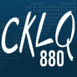 Logo da emissora Radio CKLQ 880 AM