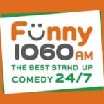 Logo da emissora Radio CKMX Funny 1060 AM