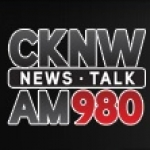 Logo da emissora Radio CKNW 980 AM