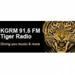 Logo da emissora Radio KGRM 91.5 FM Tiger Radio