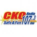 Logo da emissora Radio CKOE 107.3 FM