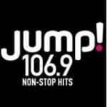 Logo da emissora Radio CKQB Jump! 106.9 FM