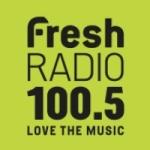Logo da emissora Radio CKRU Fresh 100.5 FM