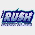 Logo da emissora Radio CKRW The Rush 610 AM