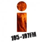 Logo da emissora i105107 105 FM