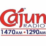 Logo da emissora Radio KJEF Cajun 1290 AM