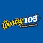Logo da emissora Radio CKTG Country 105.3 FM