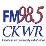 Logo da emissora Radio CKWR 98.5 FM