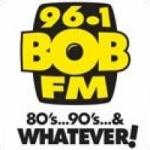 Logo da emissora Radio CKX Bob 96.1 FM