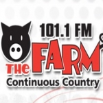 Logo da emissora Radio CKXA The Farm 101.1 FM