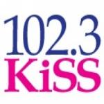 Logo da emissora Radio CKY Kiss 102.3 FM