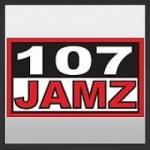 Logo da emissora Radio KJMH 107 Jamz 107.5 FM