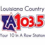 Logo da emissora Radio KLAA La 103.5 FM